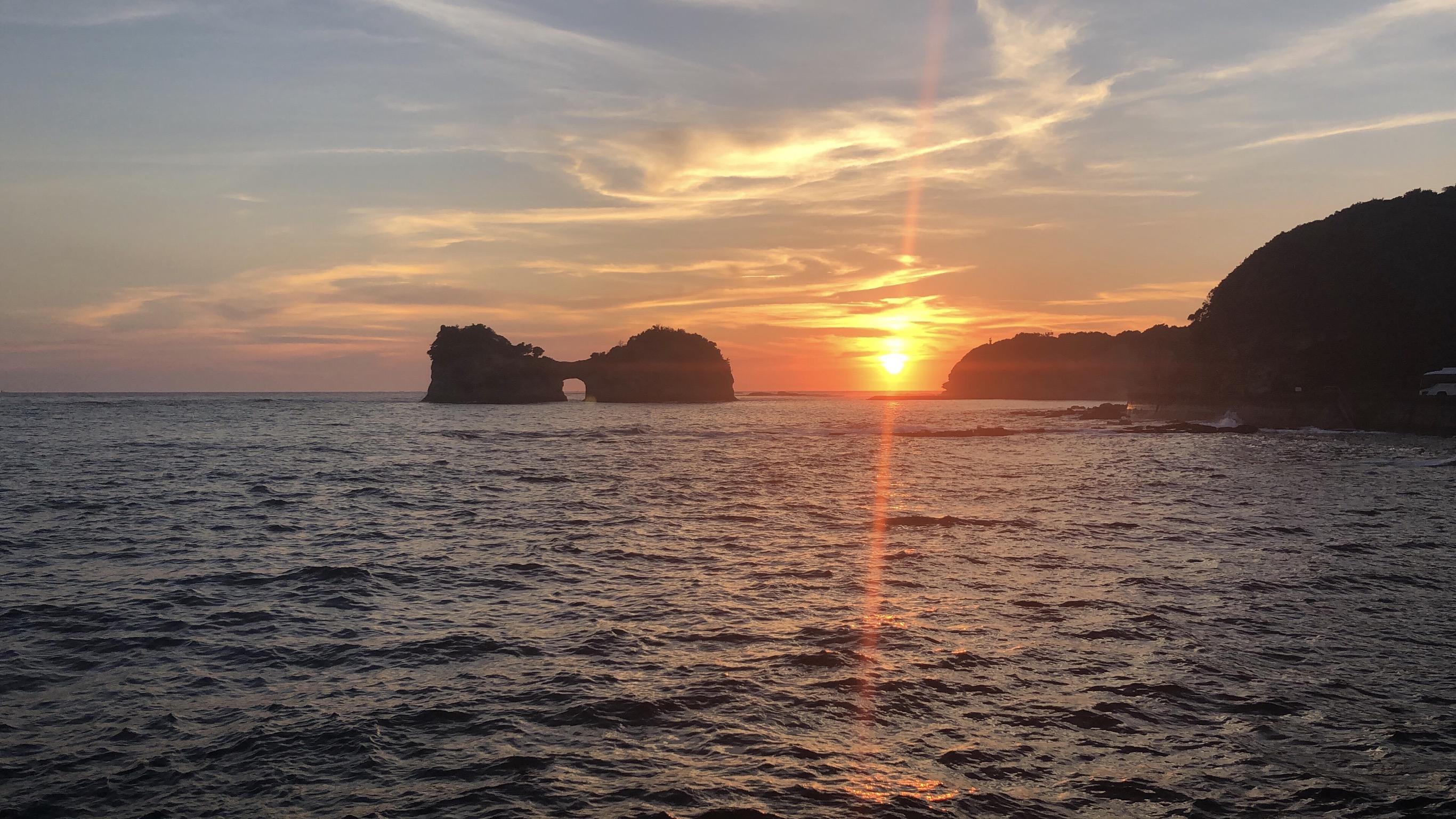 sun set 🌄のアイキャッチ画像